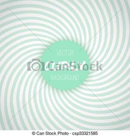 Spiral clipart mint Of Template Waves Color Illustration