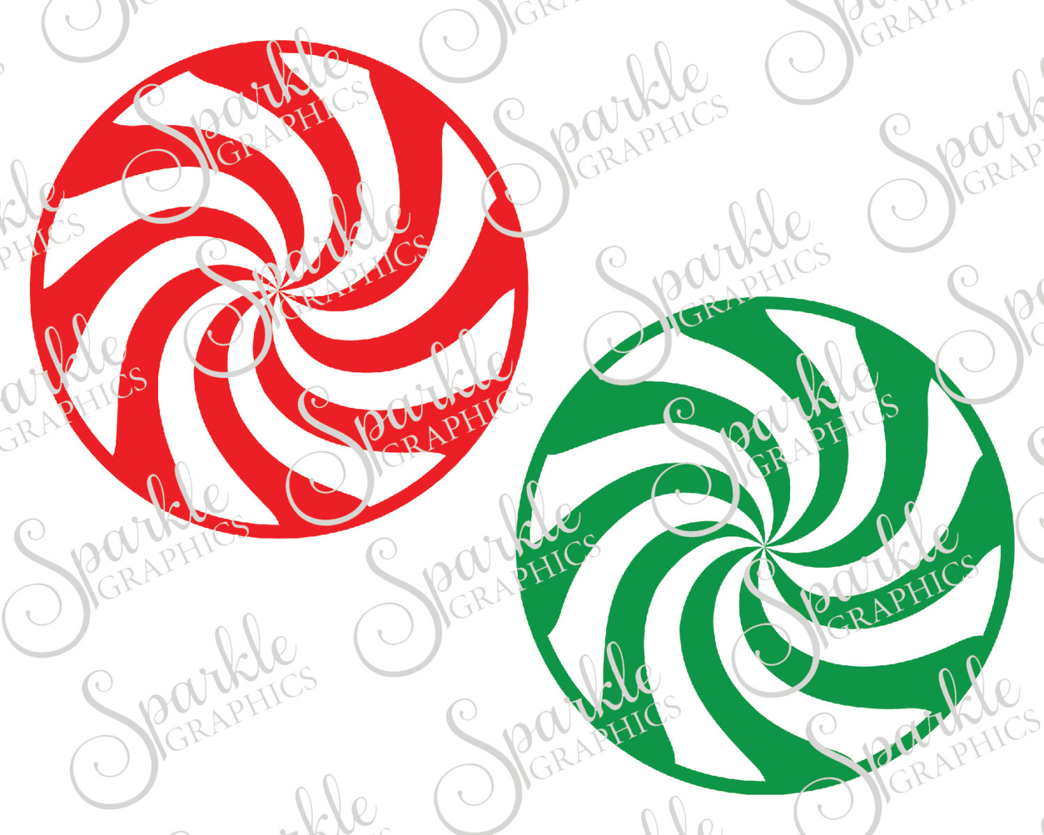 Spiral clipart peppermint  is digital Candy Peppermint