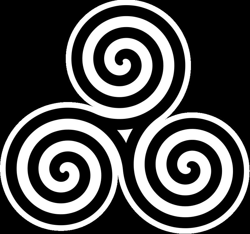 Spiral clipart pixel File:Triple Spiral 768 Symbol pixels