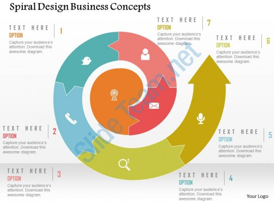 Spiral clipart powerpoint Example  of Design Business
