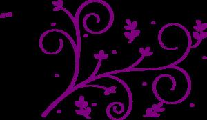 Spiral clipart purple  Purple Clker Spiral Art
