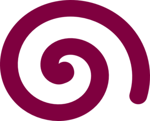 Spiral clipart purple Simple public Spiral royalty Simple