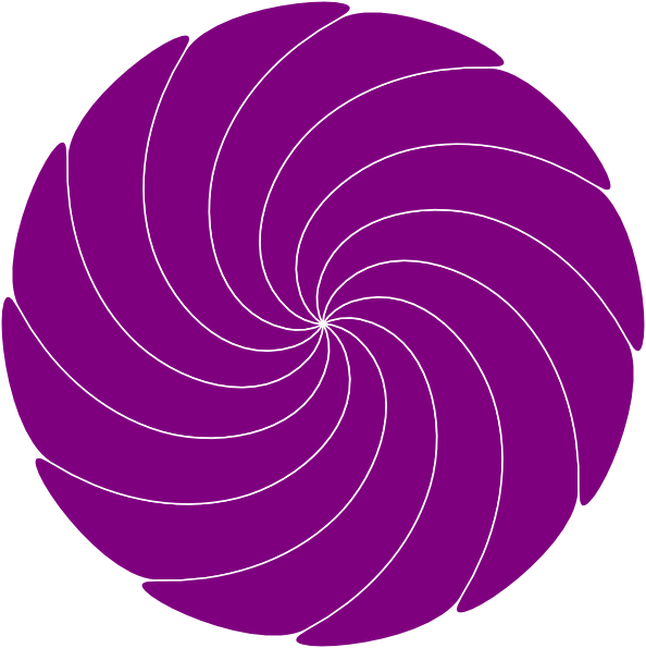 Spiral clipart purple Download  clip as: art