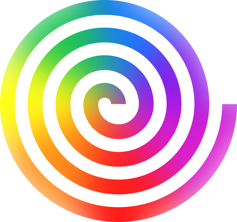 Spiral clipart rainbow swirl Clipart IMAGE MEDIUM Spiral (PNG)