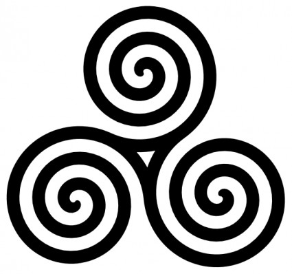 Spiral clipart simple Swirls clipart free free Simple