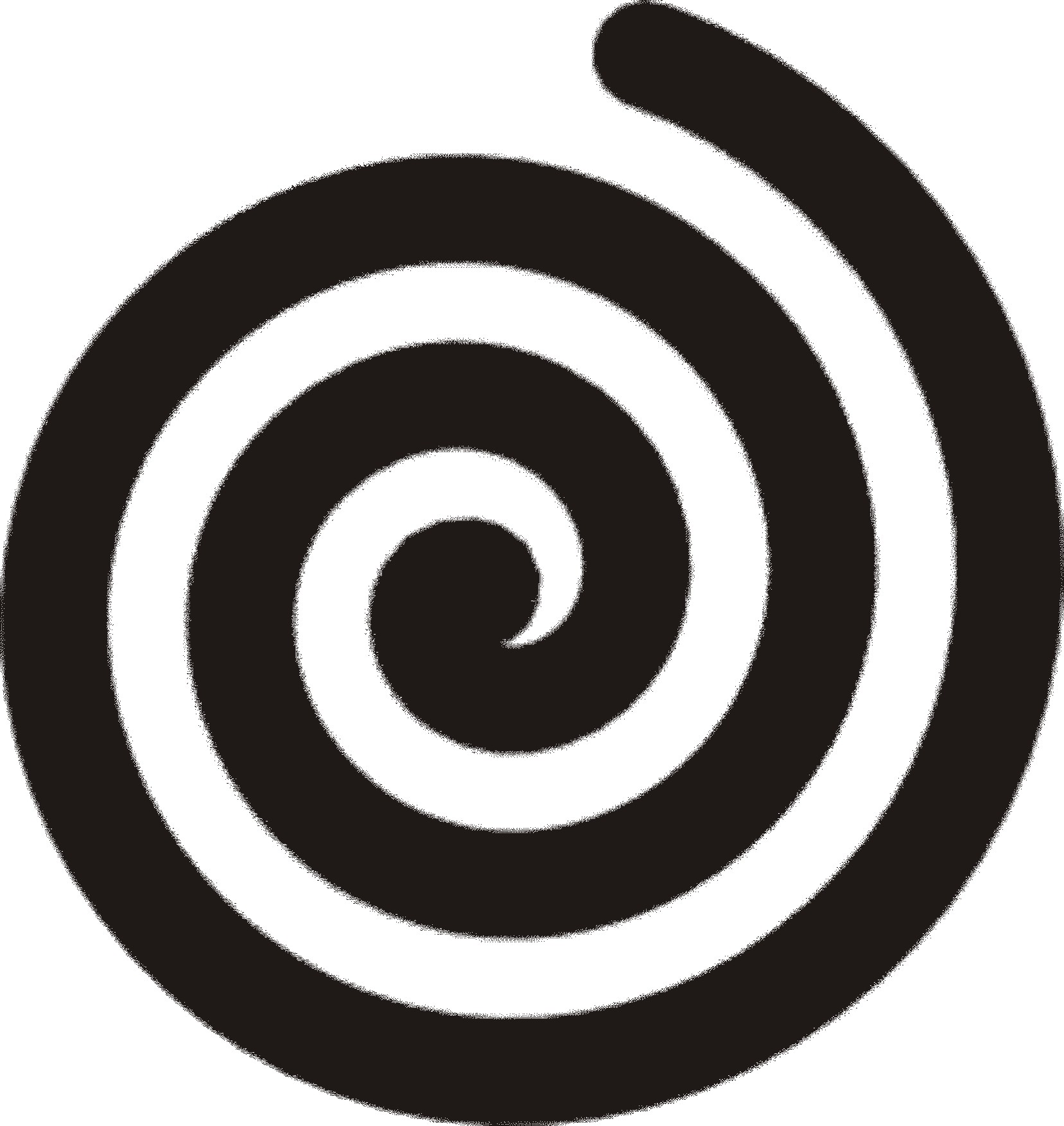Swirl clipart black and white Clipart Free on Art