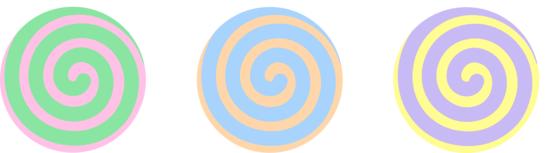 Spiral clipart swirl candy Candies Clip Free Pastel Clip