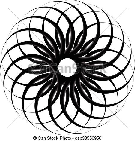 Spiral clipart vortex Pattern shape Abstract vortex pattern