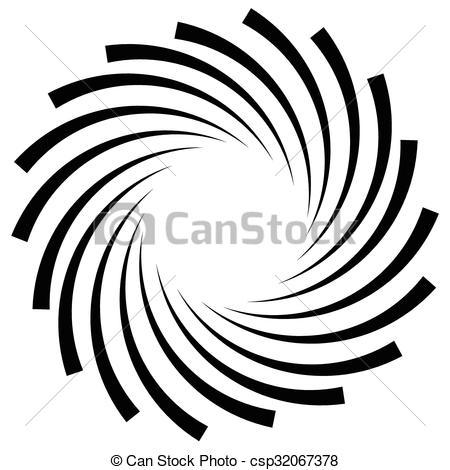 Spiral clipart vortex Vortex monochrome graphic  swirl