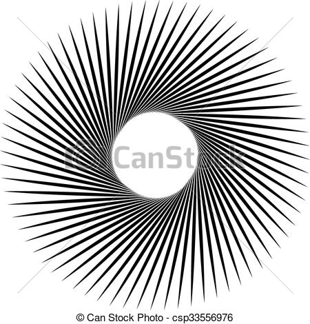 Spiral clipart vortex Radial effect Rotating  radial