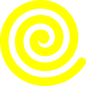 Spiral clipart mint  at Art Yellow Art