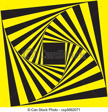 Spiral clipart yellow Of Black Spiral  Frame