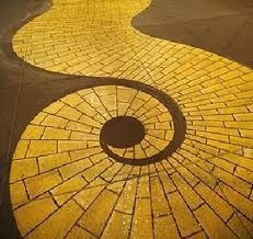 Spiral clipart yellow brick road Yellow about 94 ROAD BRICK