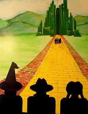 Spiral clipart yellow brick road Yellow best Clip Oz of