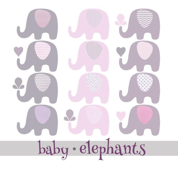 Splash clipart grey water White Elephants Purple/Violet from 12