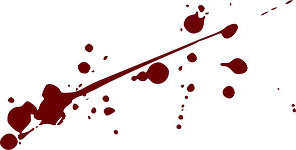 Splatter clipart Clip Blood clipart Clip Splatter