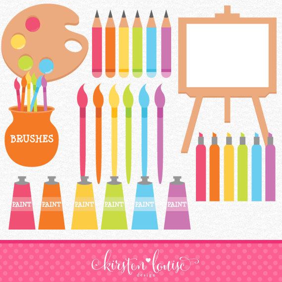 Splatter clipart art supply Supplies Clipart Painting Art Clipart