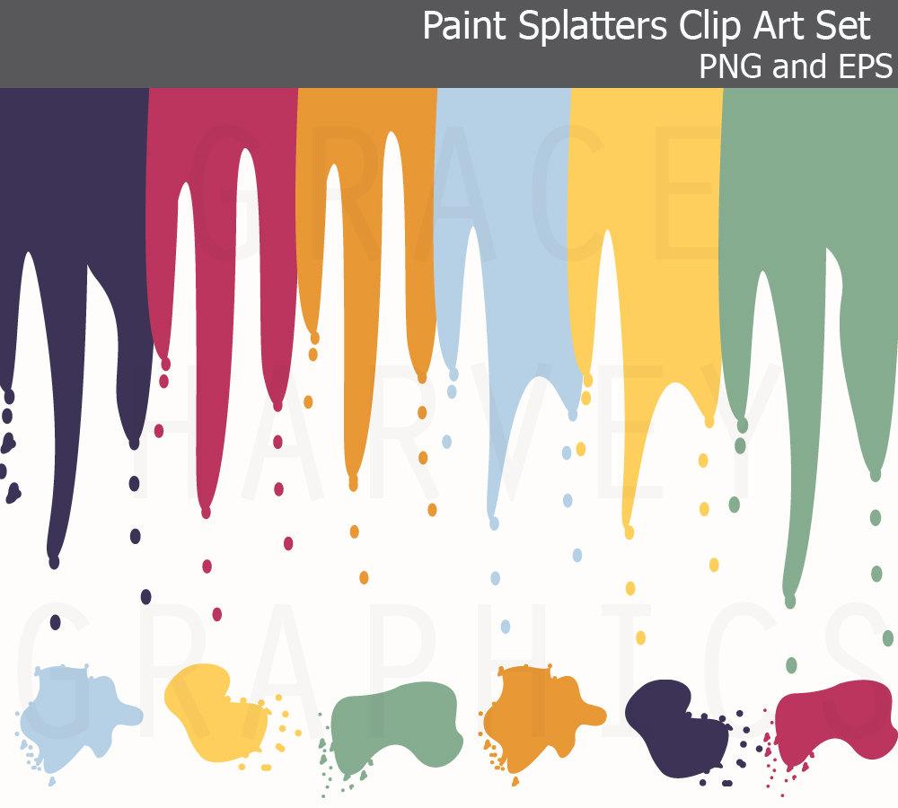 Splatter clipart art supply Paint Supplies images Splatter Art