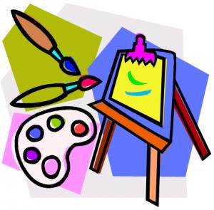 Splatter clipart art supply Clipart Supplies com Kids Art
