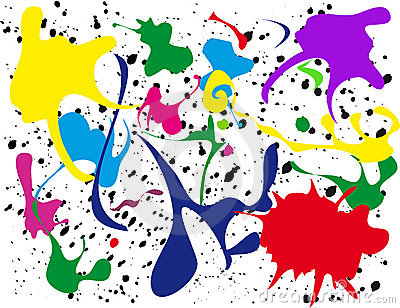 Splatter clipart artist painting Clip Clip Splatter art Free