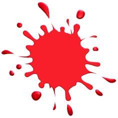 Splatter clipart artist painting Clip online Red Splatter online