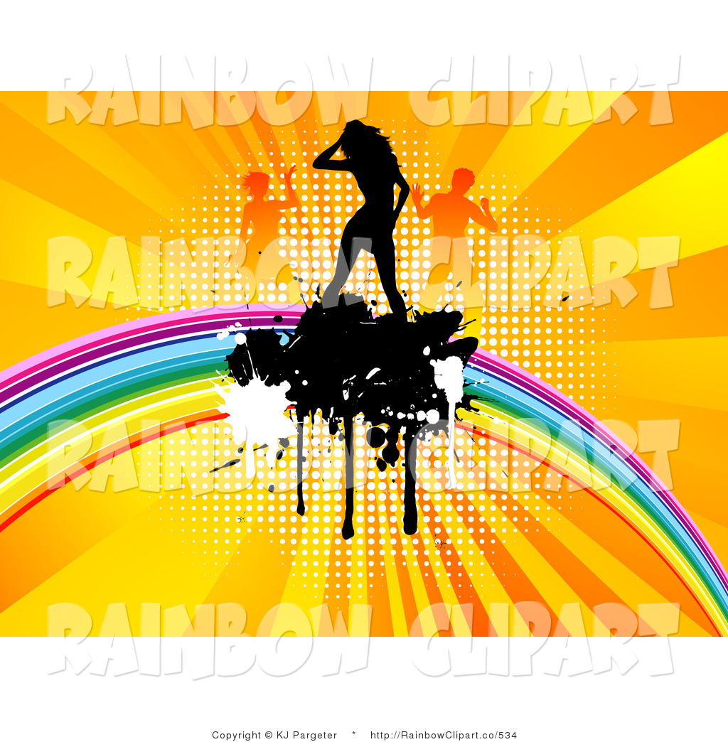 Splatter clipart burst And Free Designs Woman Rainbow