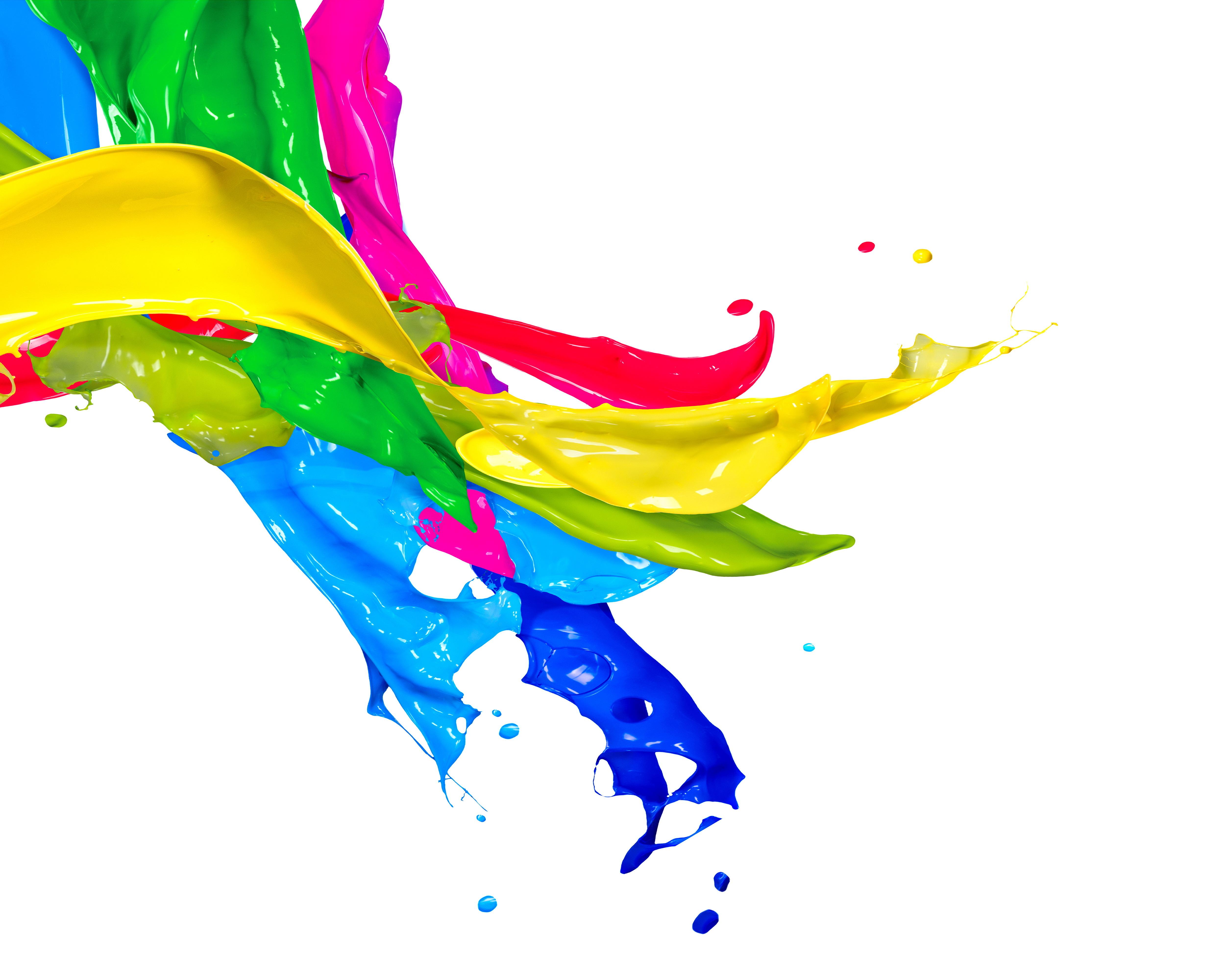 Blur clipart color splash Mix splash ink ink mix