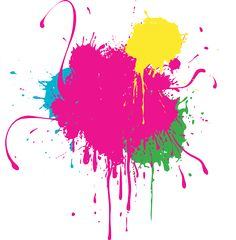 Splatter clipart colour splash  png Splash splash Png