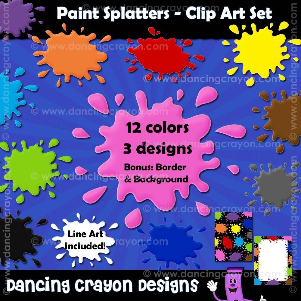 Splatter clipart crayon Paint Paint clip Png Paint