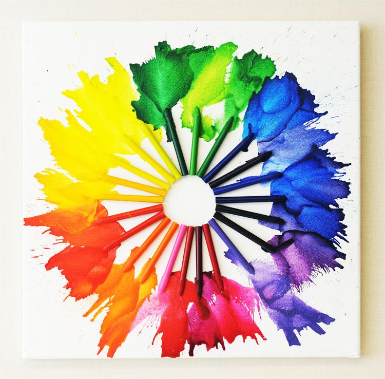Splatter clipart crayon Ben on Pictures Create Art