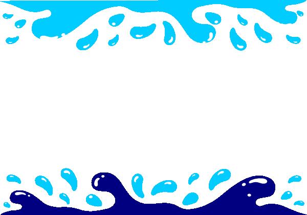 Water Droplets clipart border Clip online art Art at