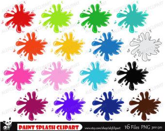 Splash clipart paint splatter Clipart Ink Clipart Splash Paint
