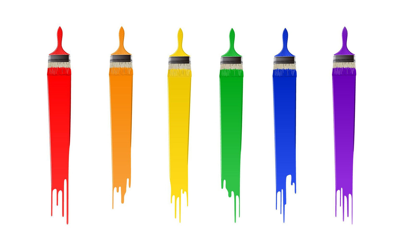 Brush clipart paint brush stroke Them the  Color! On