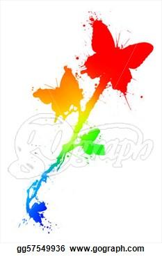 Pie clipart splattered Rainbow pl2PldQR pl2PldQR splatter paint