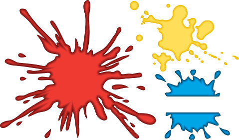 Splatter clipart paintball Clip Cliparts Clipart Free Paintball