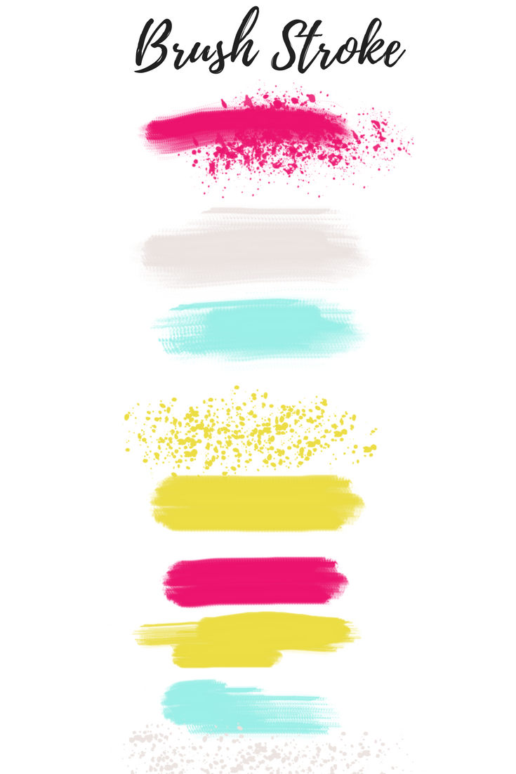 Splatter clipart painting material Paint a clip Brush art