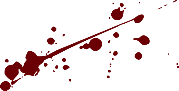 Blood clipart splater Advertisement PNG All Transparent Images