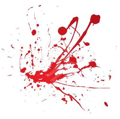 Splatter clipart red  Blood and splatter ClipArt