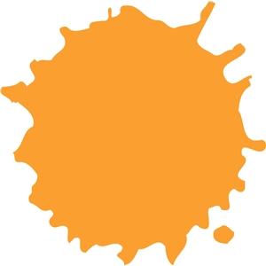Splatter clipart silhouette View paint splatter #9806: paint