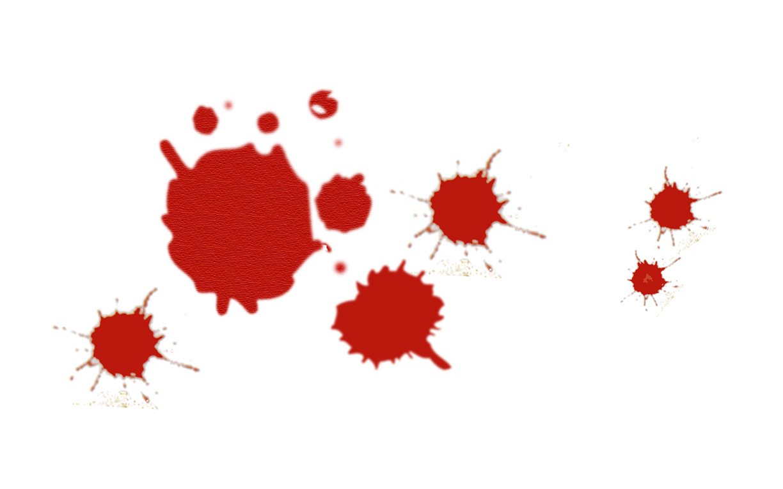 Splatter clipart spatter Blood  Clip Clipart Download