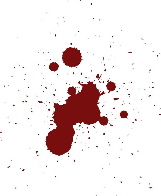 Splatter clipart spatter Splatter  Free Blood Clipart