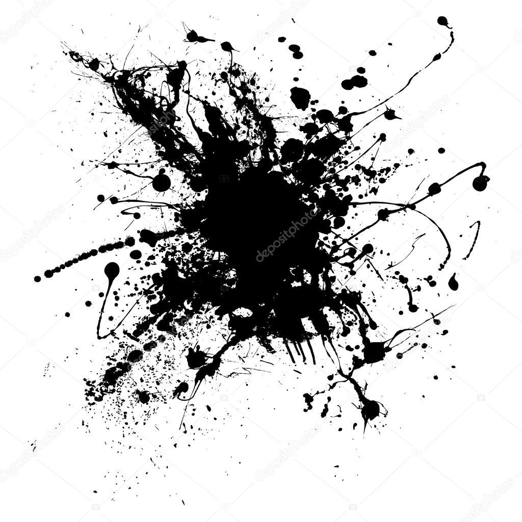 Splatter clipart spatter Ink 500 com background iconswebsite