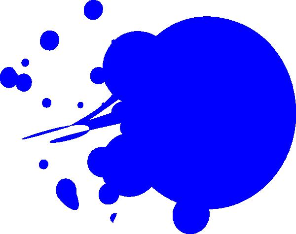 Splatter clipart spilled paint Image Dot clip art