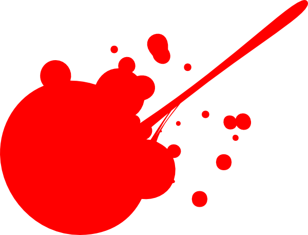 Splatter clipart splat Clip com clip as: at