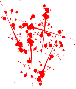 Splatter clipart splat Red Art Clker Clip Splat