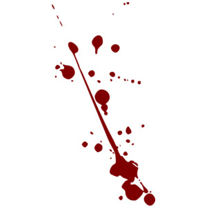 Blood clipart splater Blood Splatter Polyvore clip art
