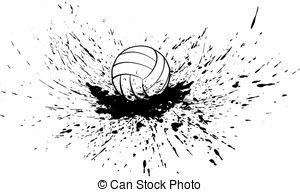 Splatter clipart splatter effect Splatter Clipart with Football vector