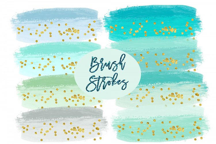 Splatter clipart splatter effect Clipart mint Splashes Watercolor Bundles