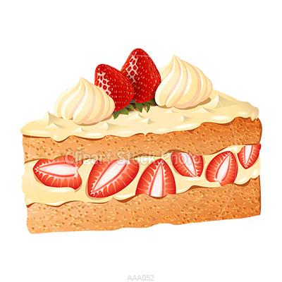 Sponge Cake clipart Art Shortcake Delicious Strawberry Art