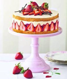 Sponge Cake clipart And Mary Fraisier Fraisier a